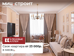 ЖК «Кленовые аллеи» Только в июне, своя квартира от 23 000